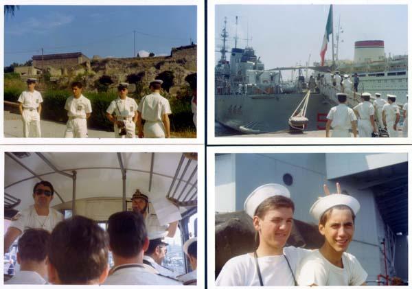 Crociera del 1974: a Pompei, clicca qui.
