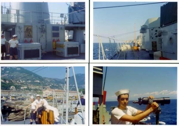 in navigazione e arrivo a Napoli, clicca qui