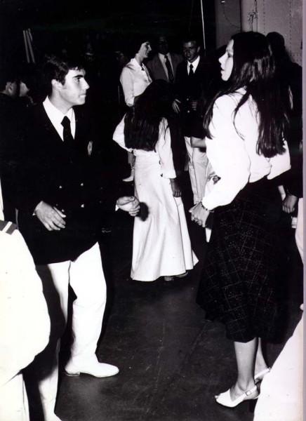 Crociera del 1974: festa a Villefranche.