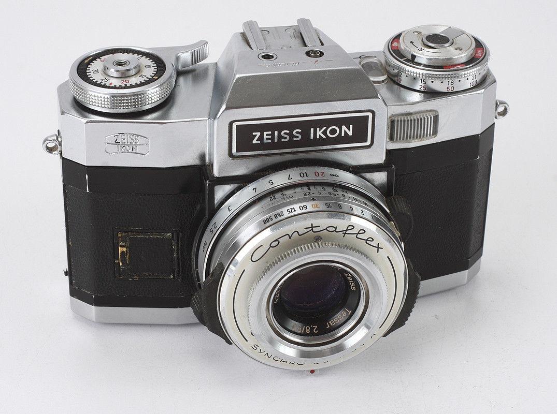 Zeiss Ikon Contaflex Super Bc 1965 1 176 Ttl Metered