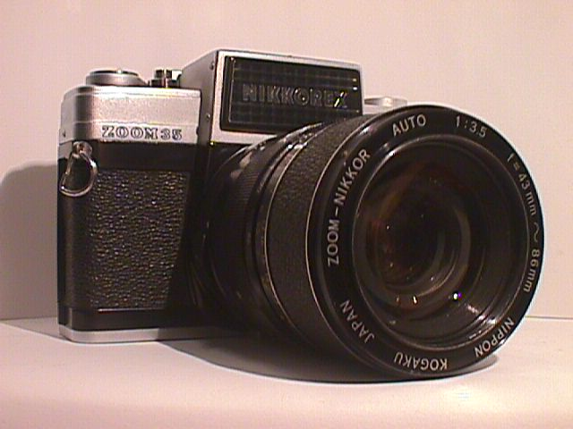 Nikon Nikkorex Zoom 1962 1 176 Reflex With Fixed Zoom 43 86 3 5
